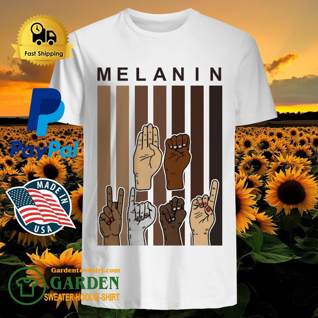 Melanin Hands vintage Shirt