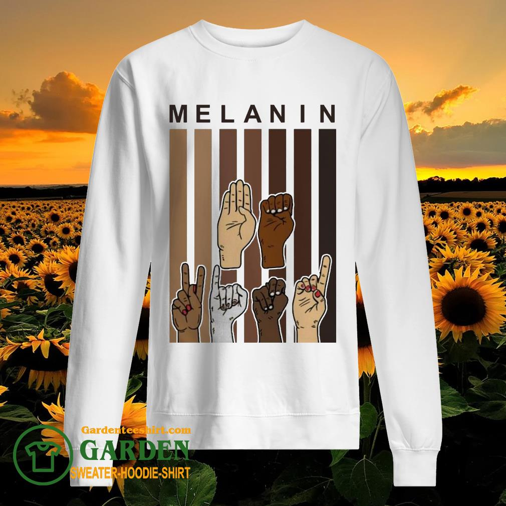 Melanin Hands vintage sweater