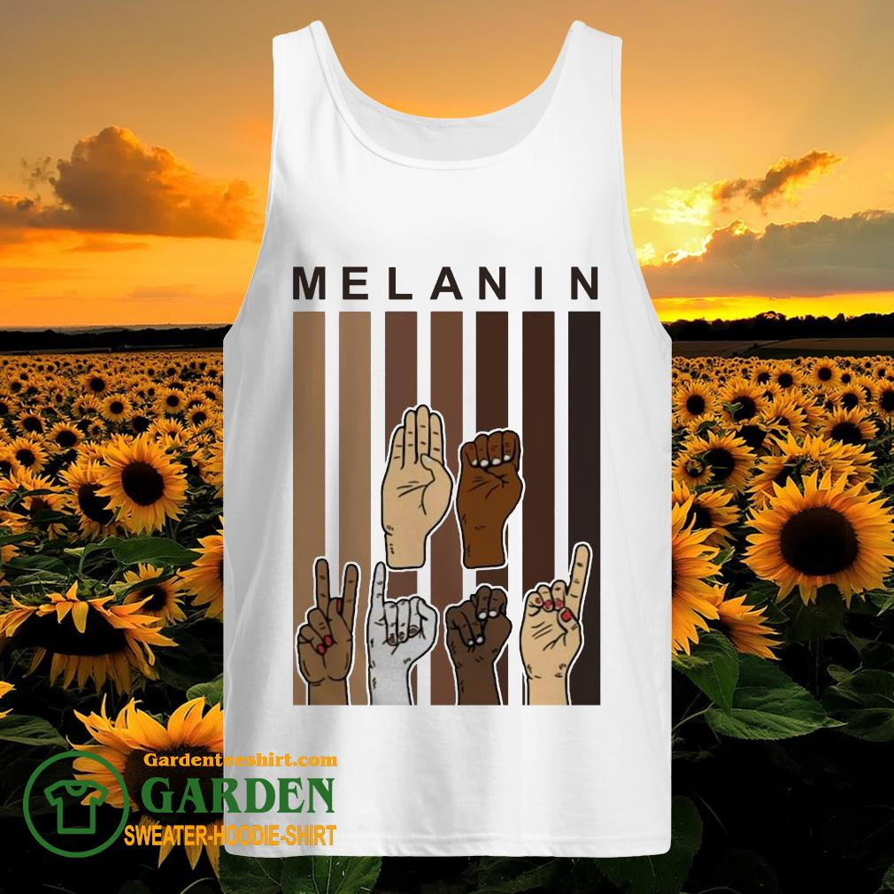 Melanin Hands vintage tank top