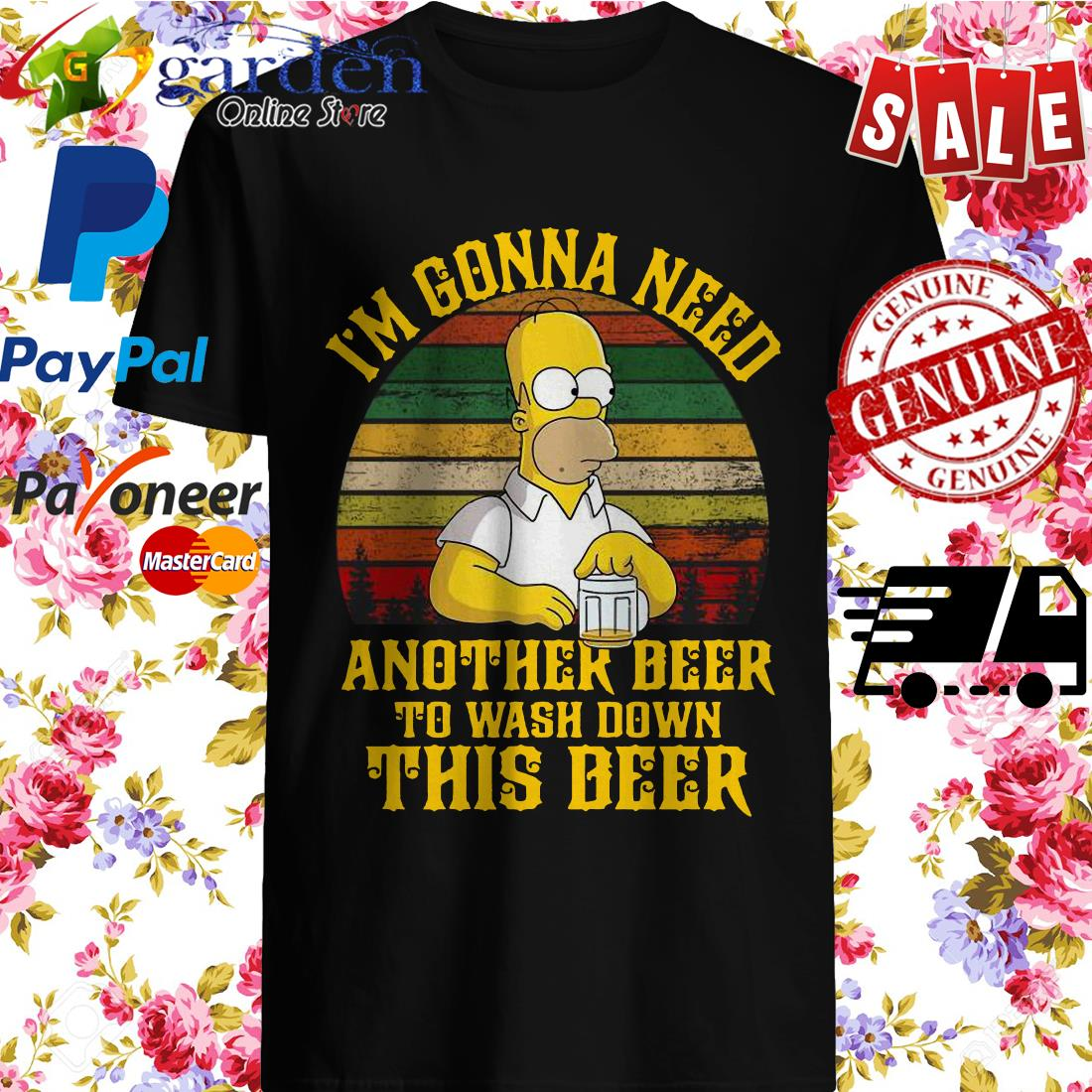 Mr Simpson I'm gonna need another beer to wash down this deer shirt