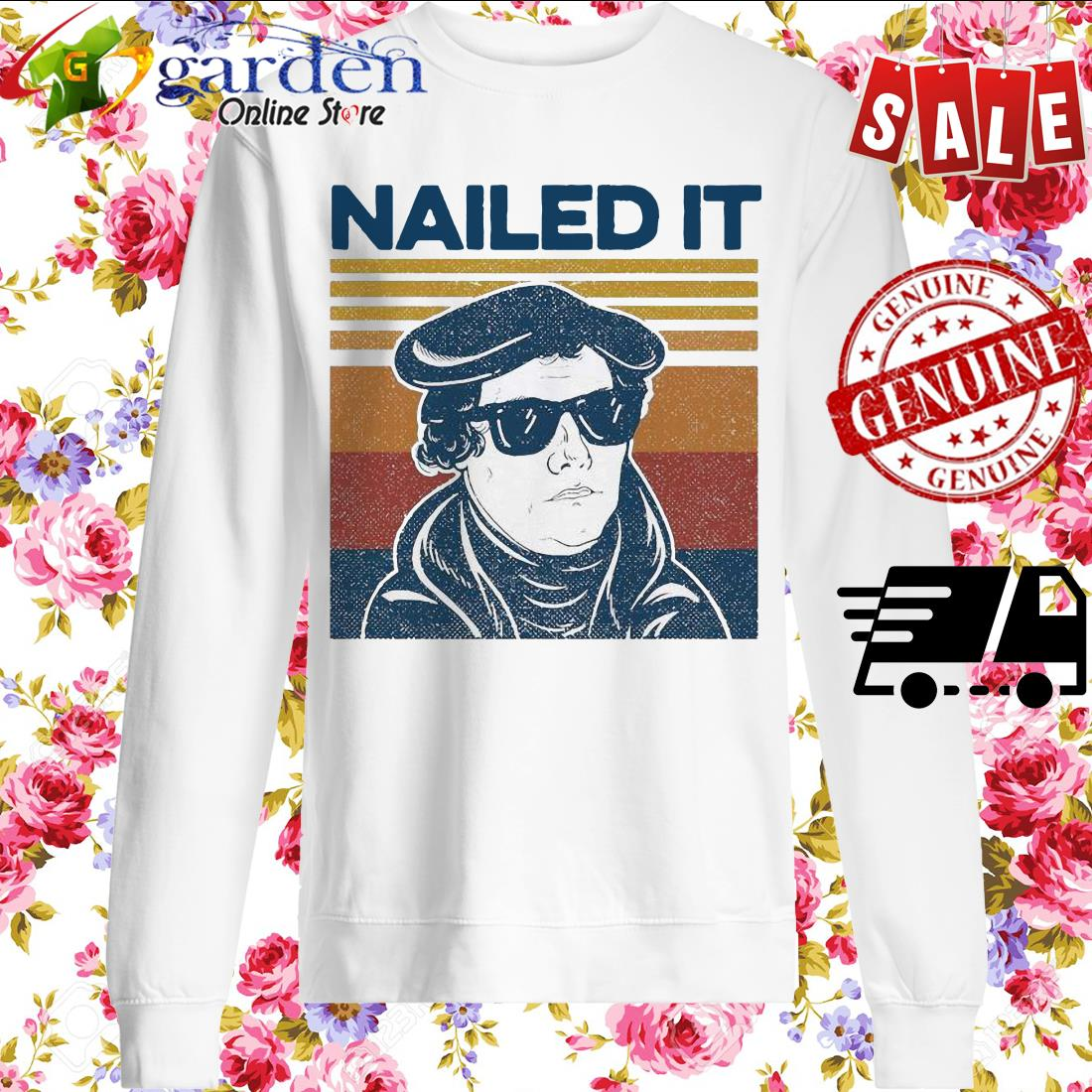 Nailed It Vintage sweater