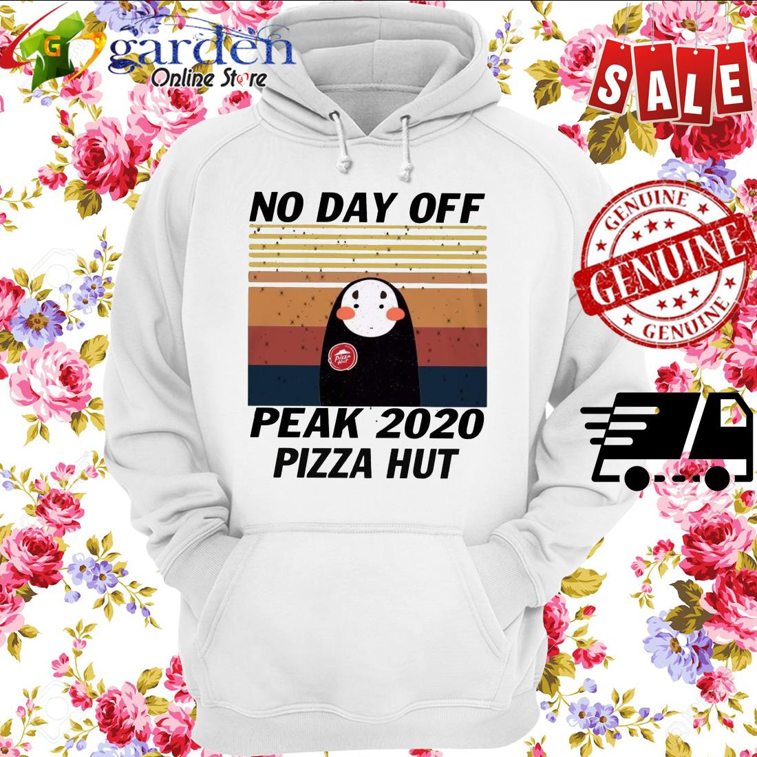 No Day Off Peak 2020 Pizza Hut vintage hoodie