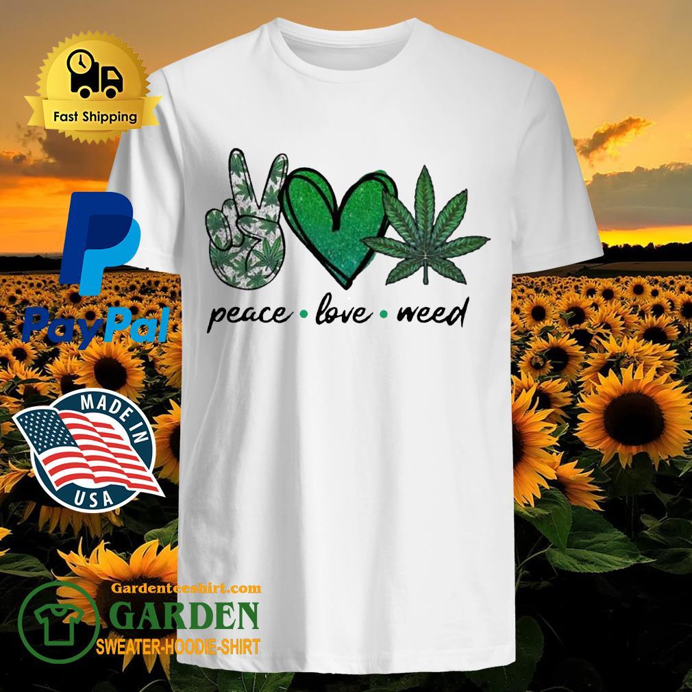 Peace Love Weed Diamond shirt