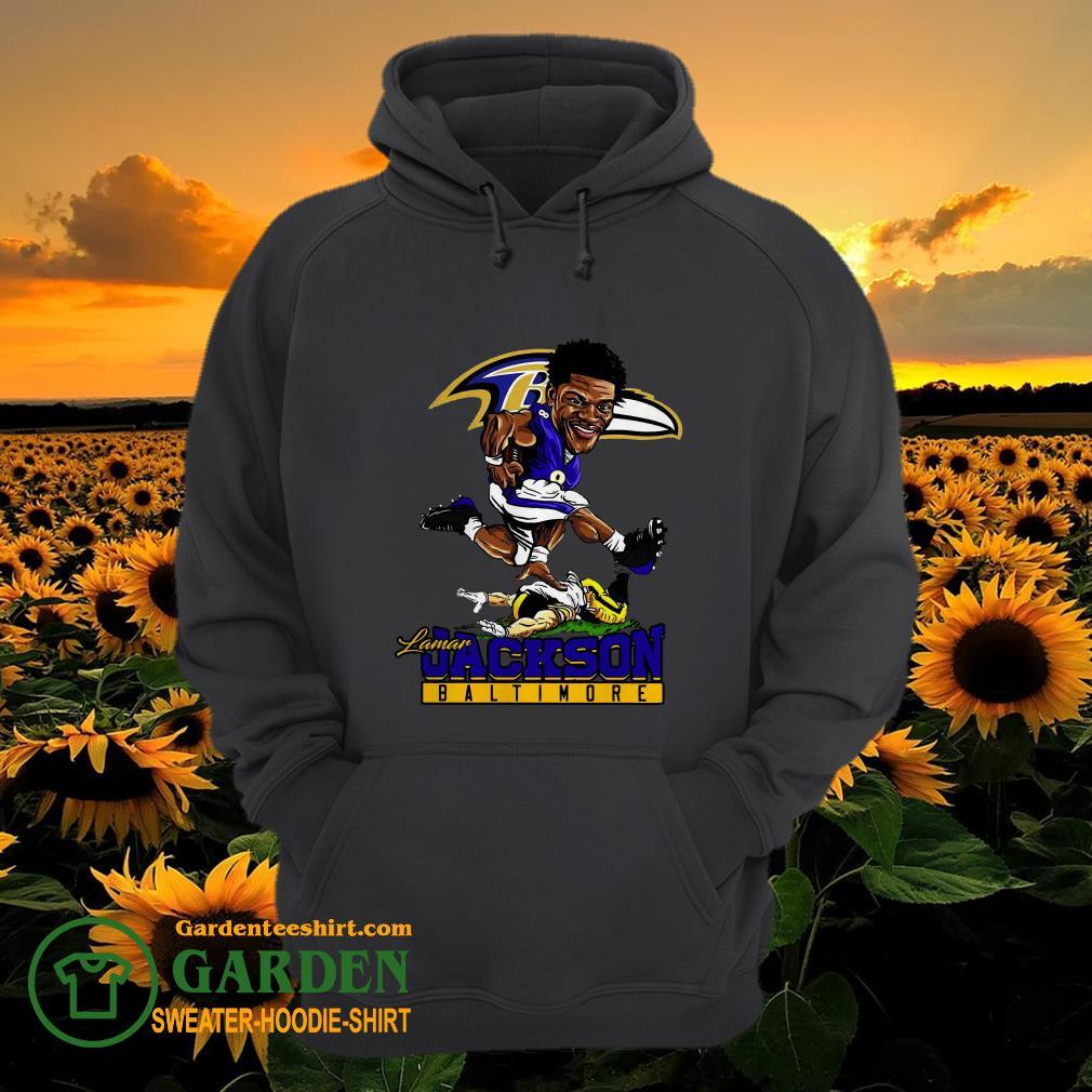 Pretty Lamar Jackson Baltimore Ravens NFL hoodie