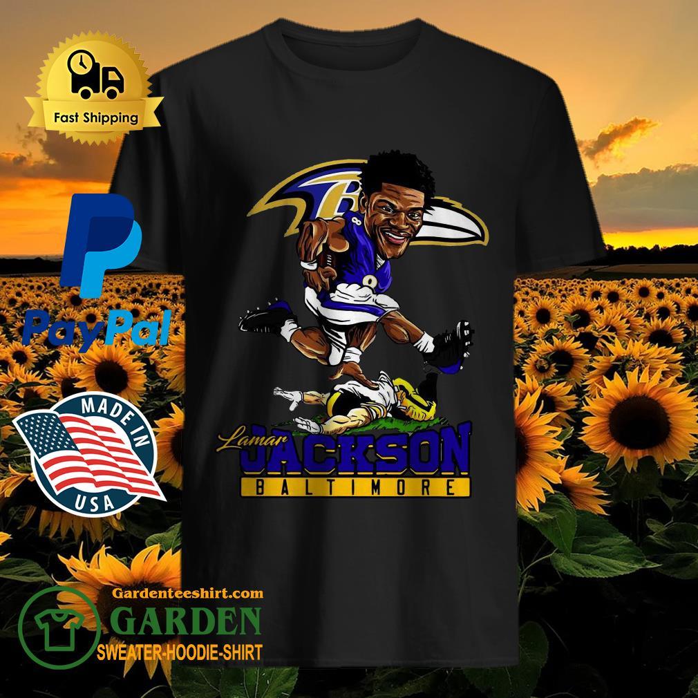 Pretty Lamar Jackson Baltimore Ravens NFL Shirt