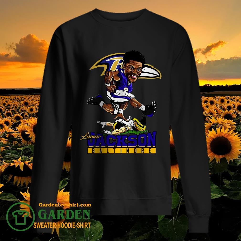 Pretty Lamar Jackson Baltimore Ravens NFL sweater