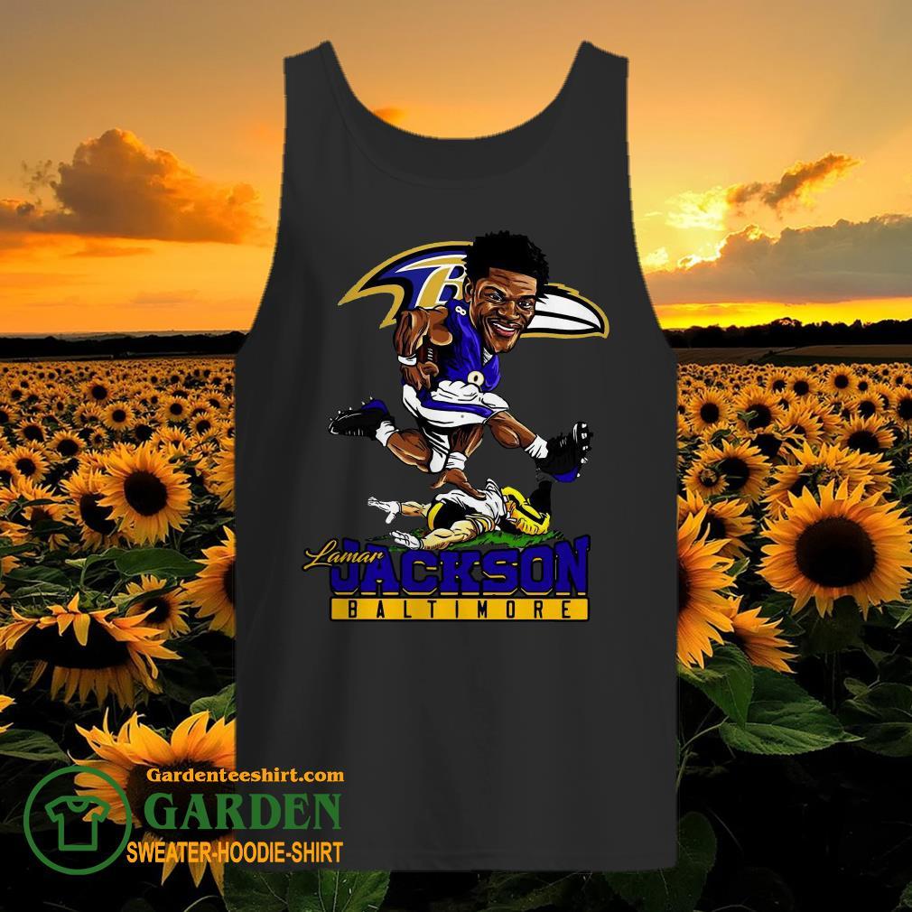 Pretty Lamar Jackson Baltimore Ravens NFL tank top