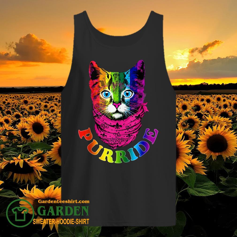 Purride Cat gay tank top
