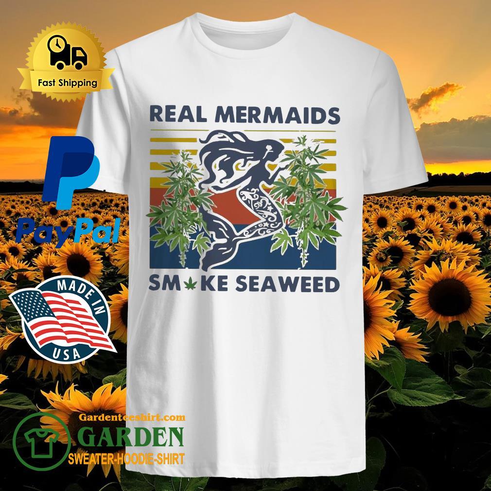 Real Mermaids Smoke Seaweed Vintage Shirt