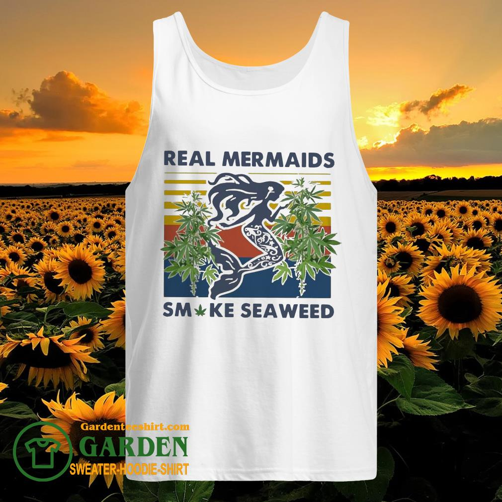 Real Mermaids Smoke Seaweed Vintage tank top