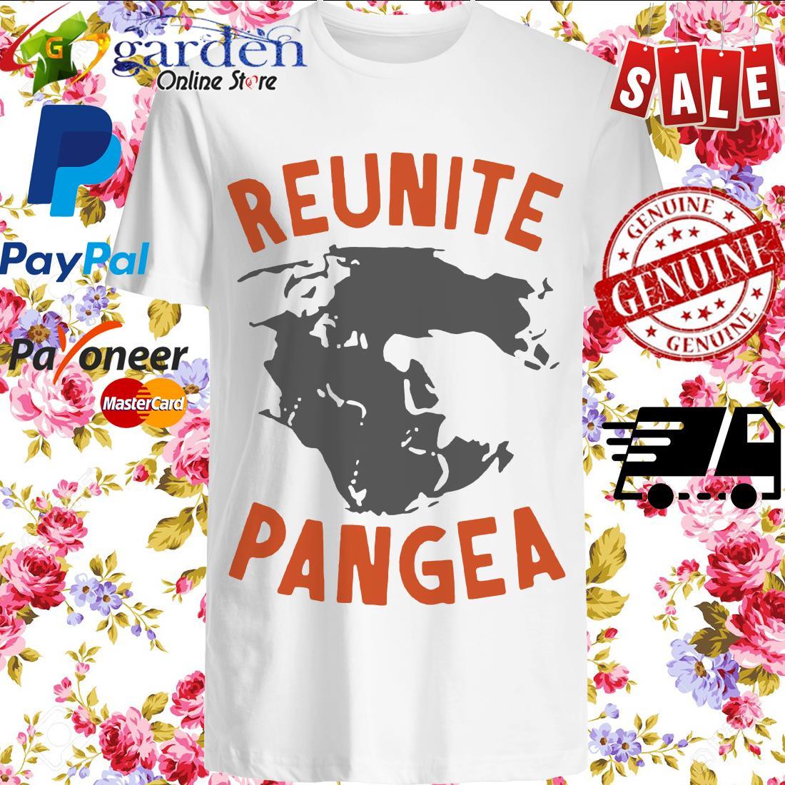 Reunite Pangea Pangaea Geography Dinosaur Shirt