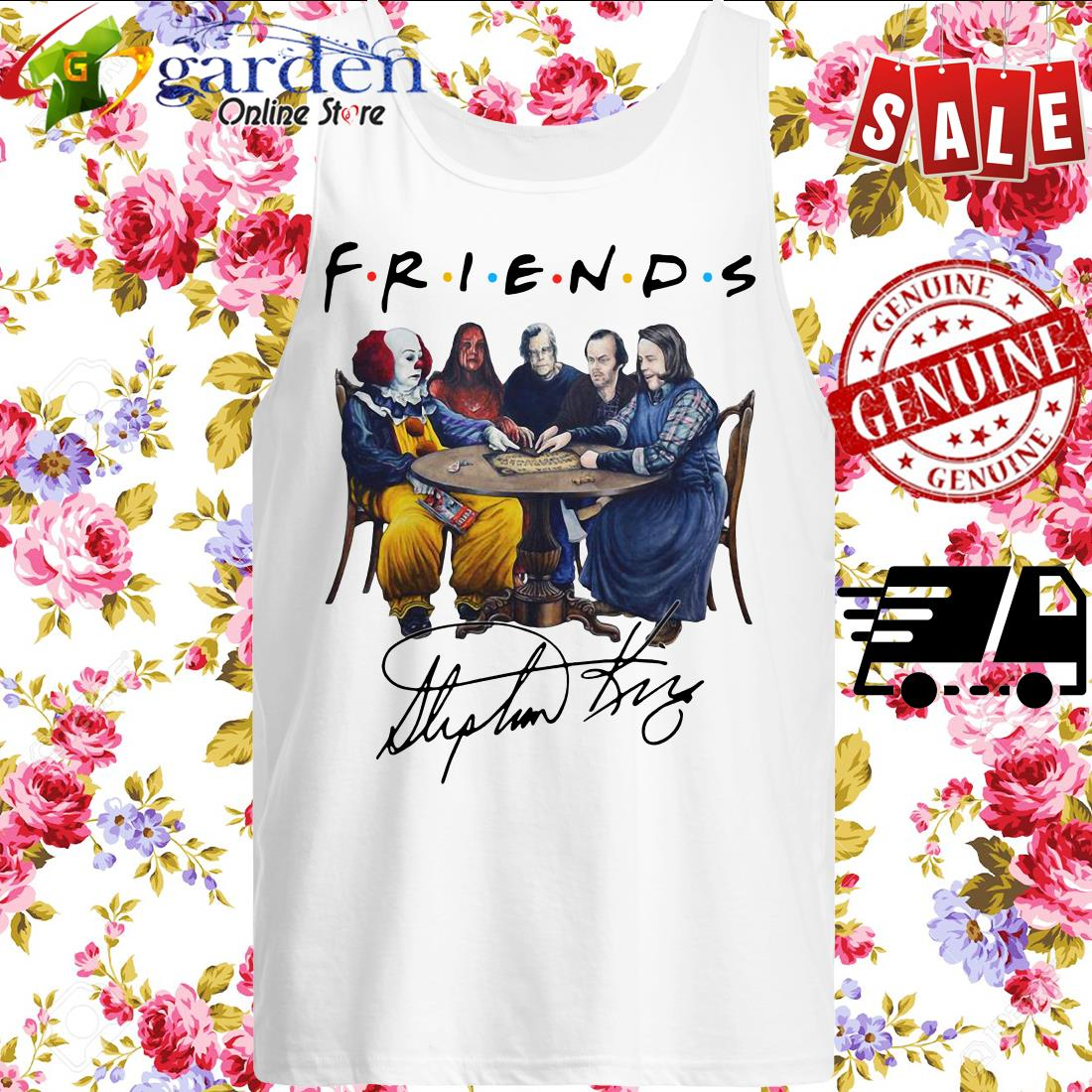 Stephen King Friends Signature tank top