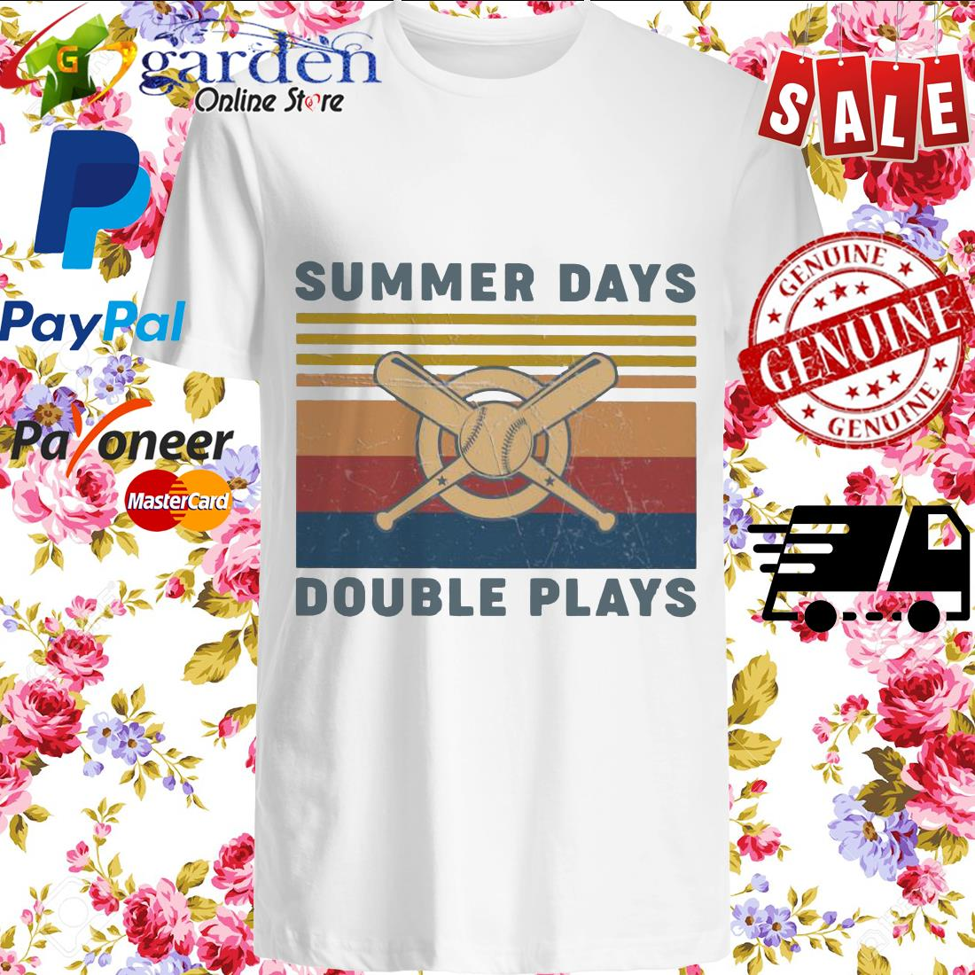Summer Days Double plays vintage shirt