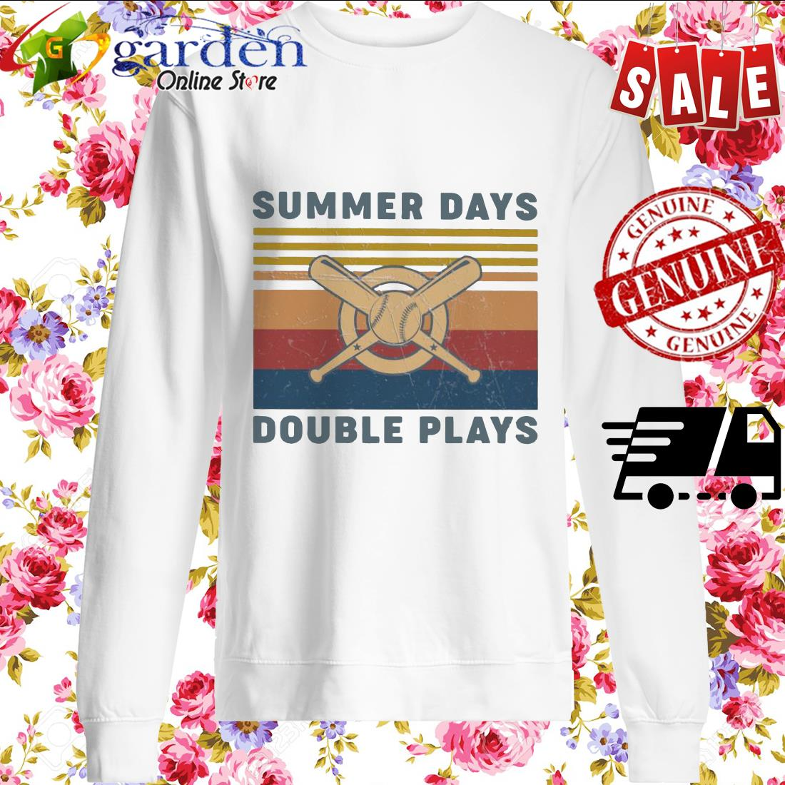 Summer Days Double plays vintage sweater