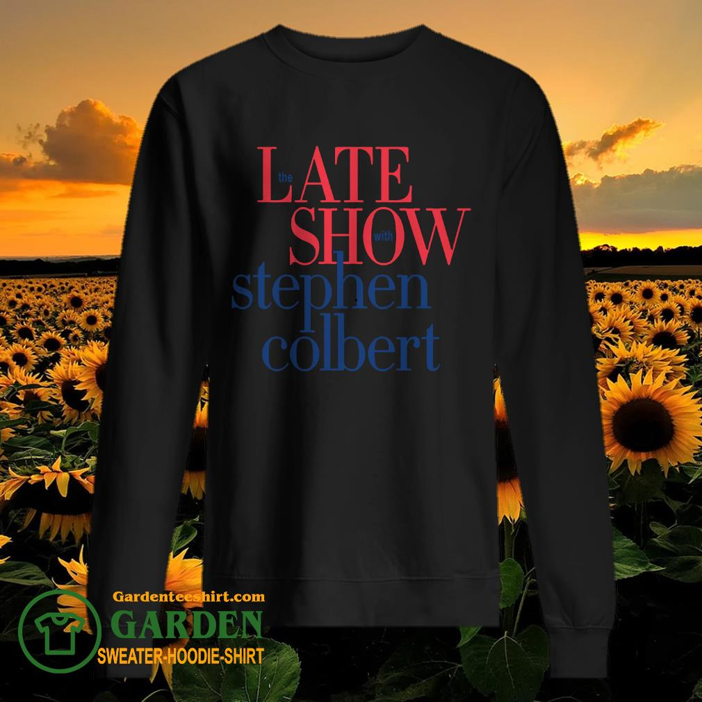 The late show with stephen colbert sweater