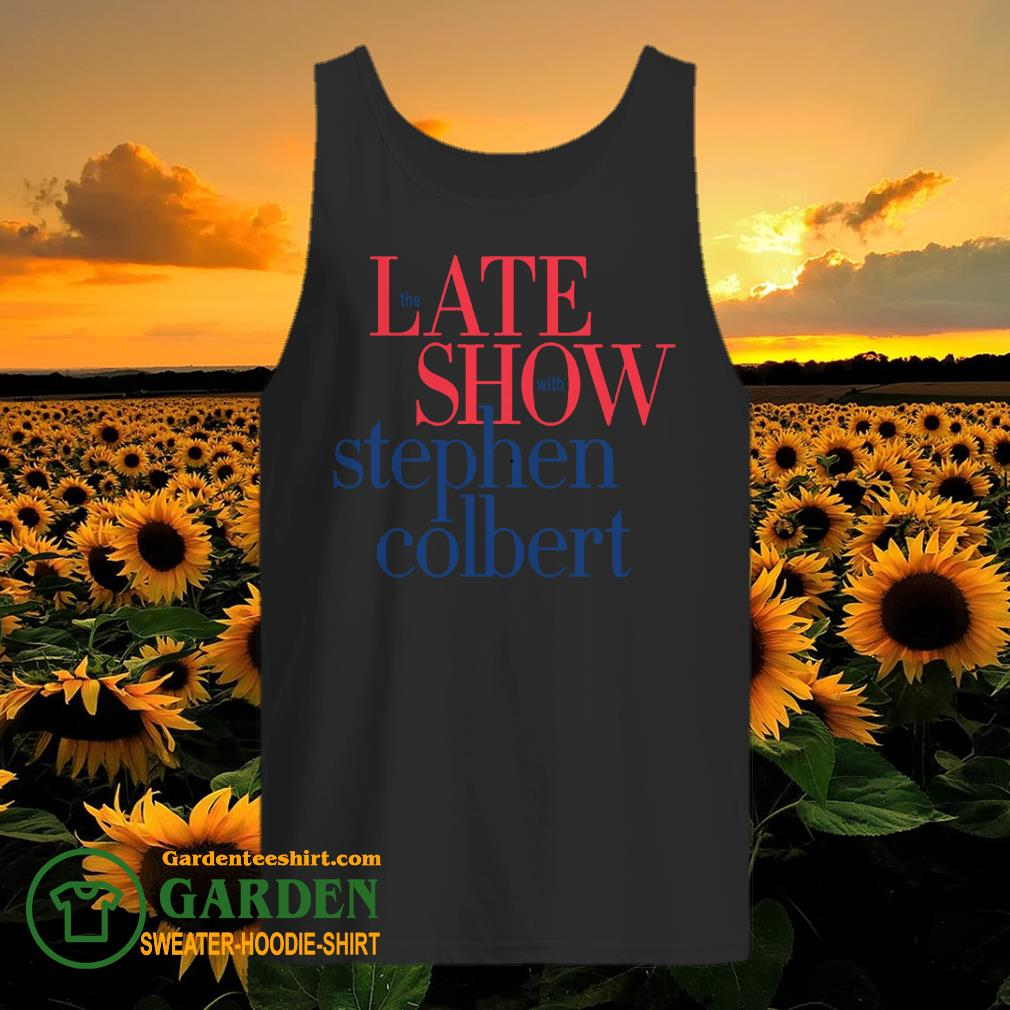 The late show with stephen colbert tank top