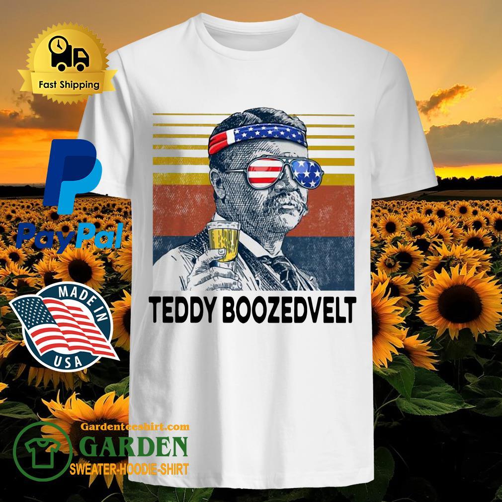 US Drink Teddy Boozedvelt Vintage Shirt