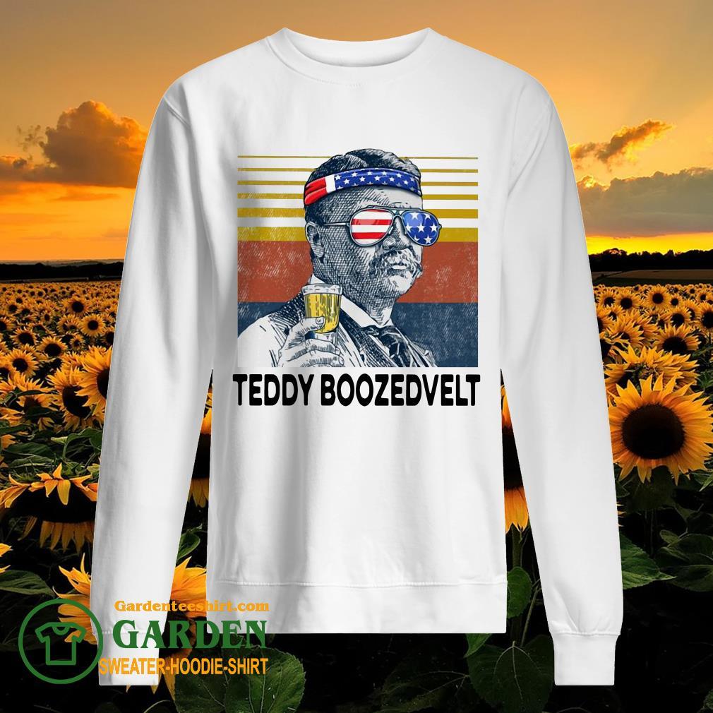 US Drink Teddy Boozedvelt Vintage sweater