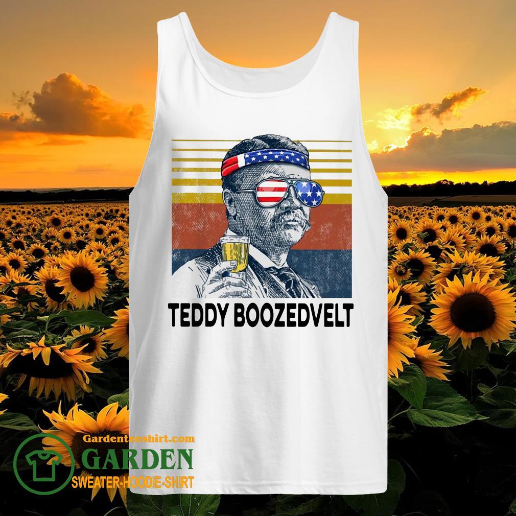 US Drink Teddy Boozedvelt Vintage tank top