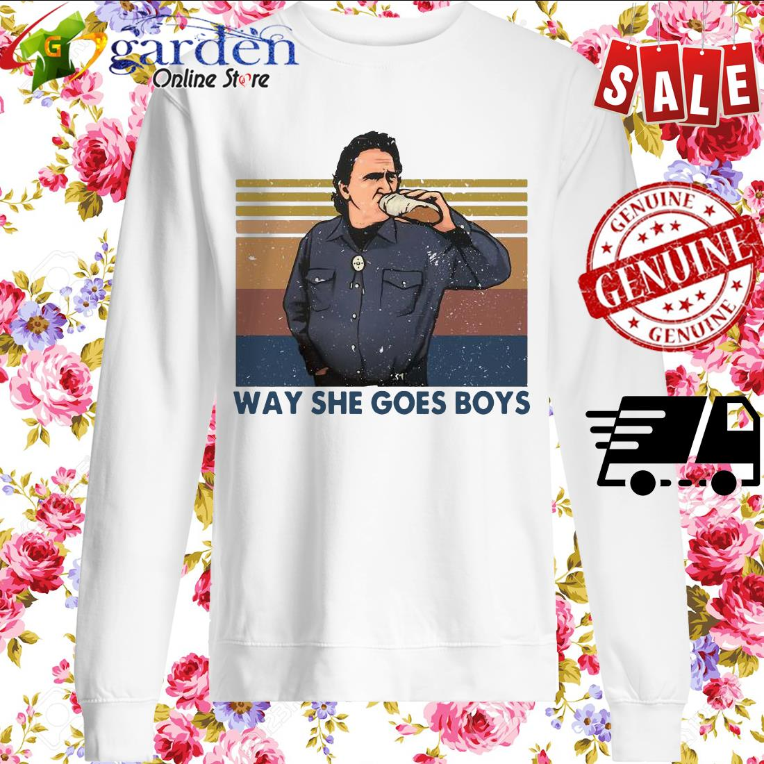 Way She Goes Boys Vintage sweater