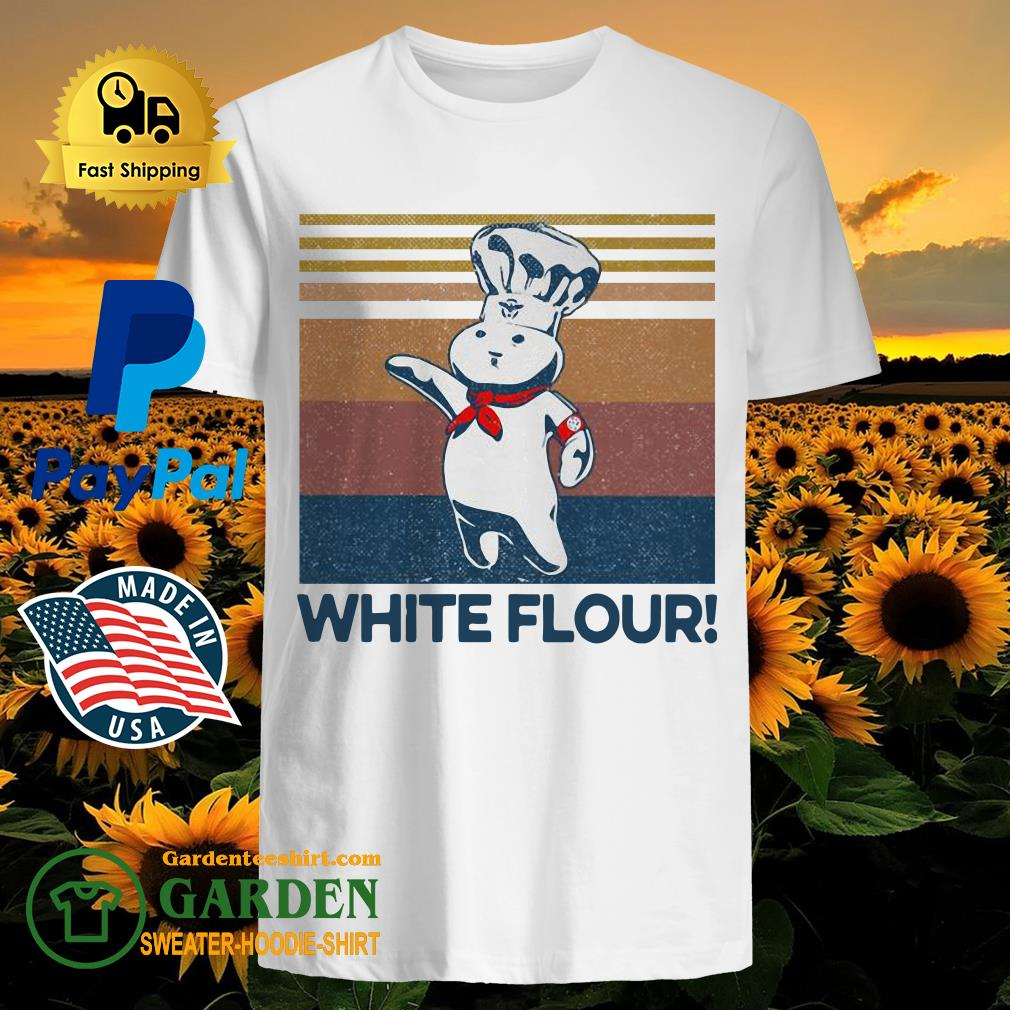 White Flour Vintage Shirt