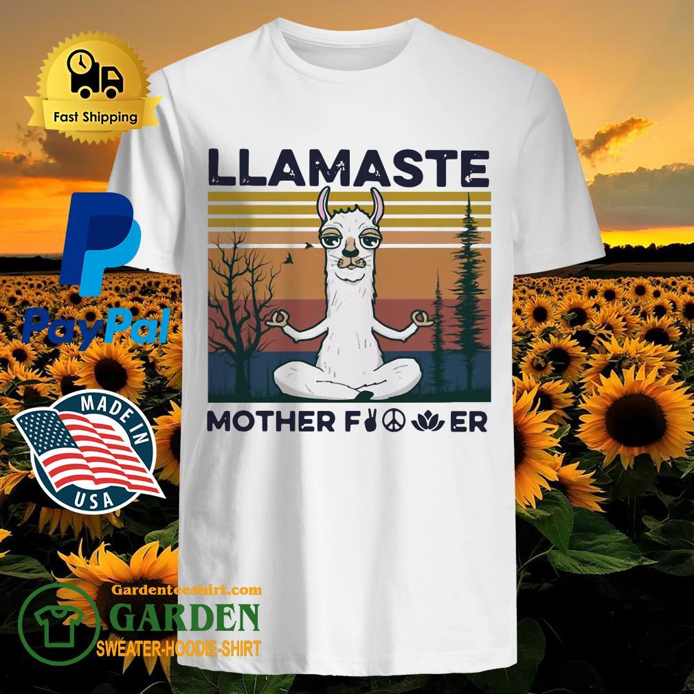 Yoga Llamaste Mother Fucker Vintage Shirt