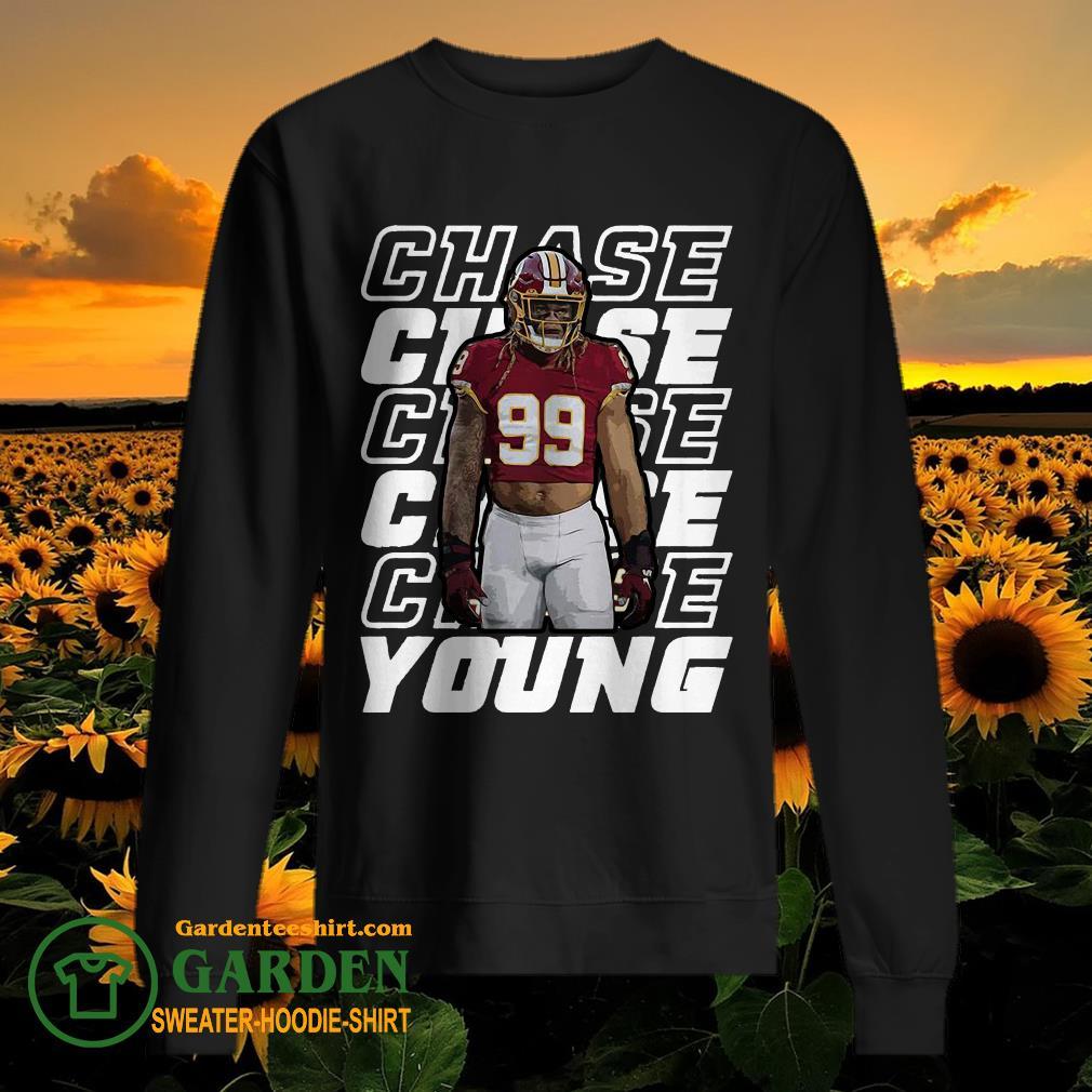 Young-99 Washington Football Predator Chase sweater