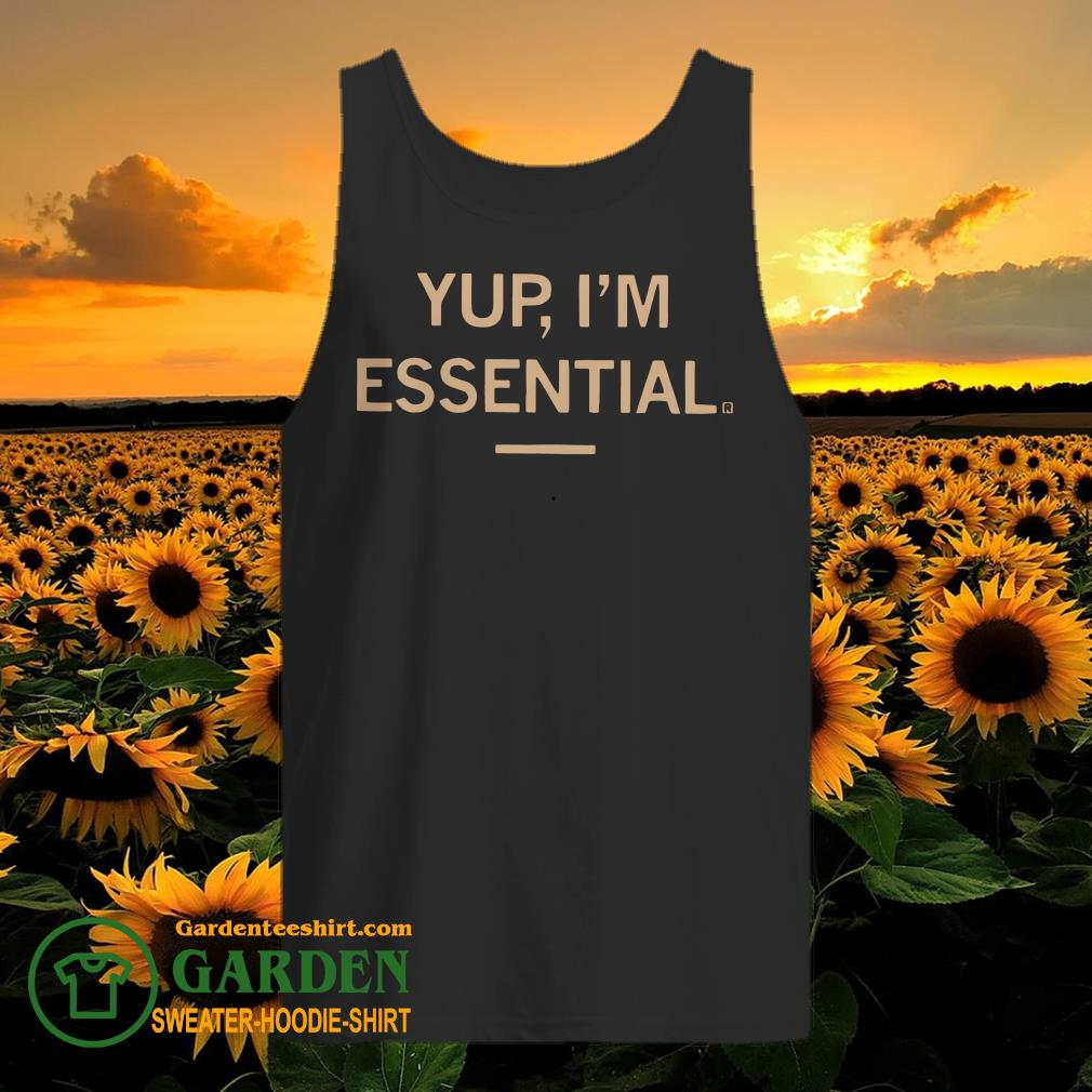Yup I'm Essential tank top