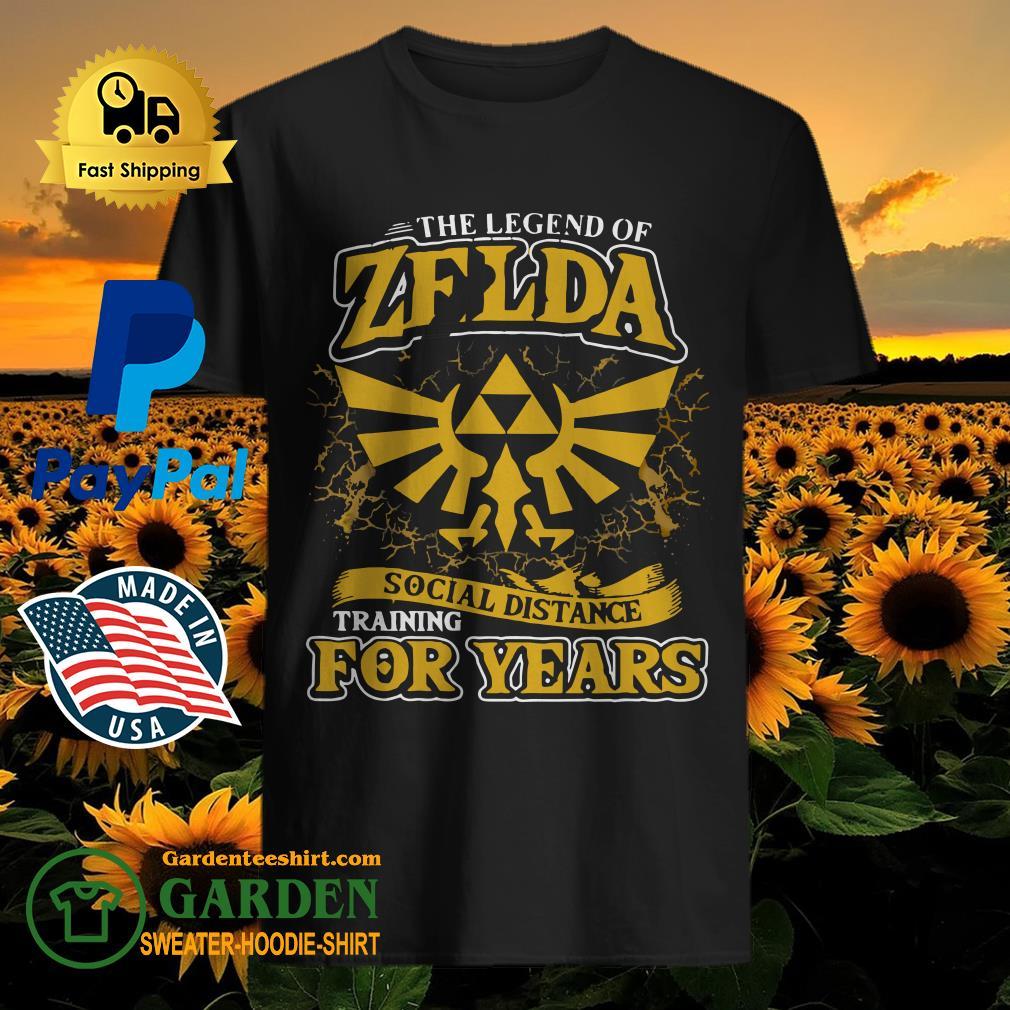 Zelda Social distance training for years shirt