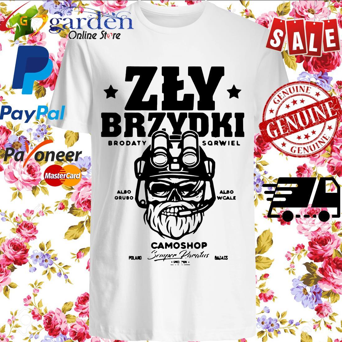 Zly Brydki Camoshop Shirt