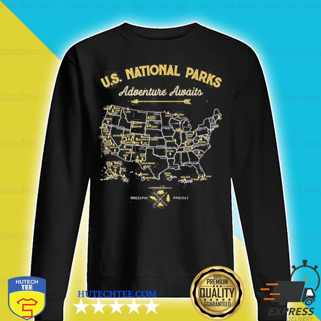 62 national parks map us park vintage camping hiking s sweater