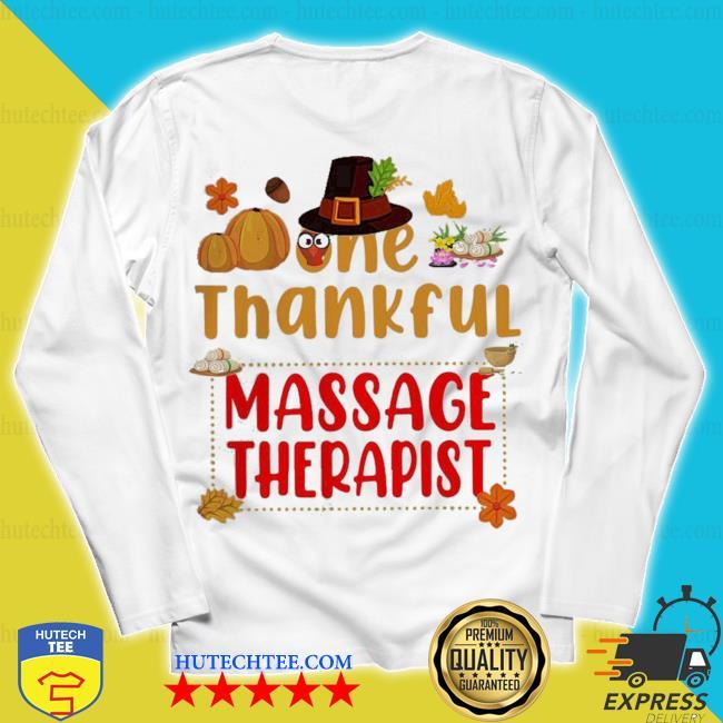 Are thankful massage therapist 2020 s unisex longsleeve