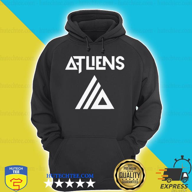 Atliens merch galaxy logo baseball s hoodie