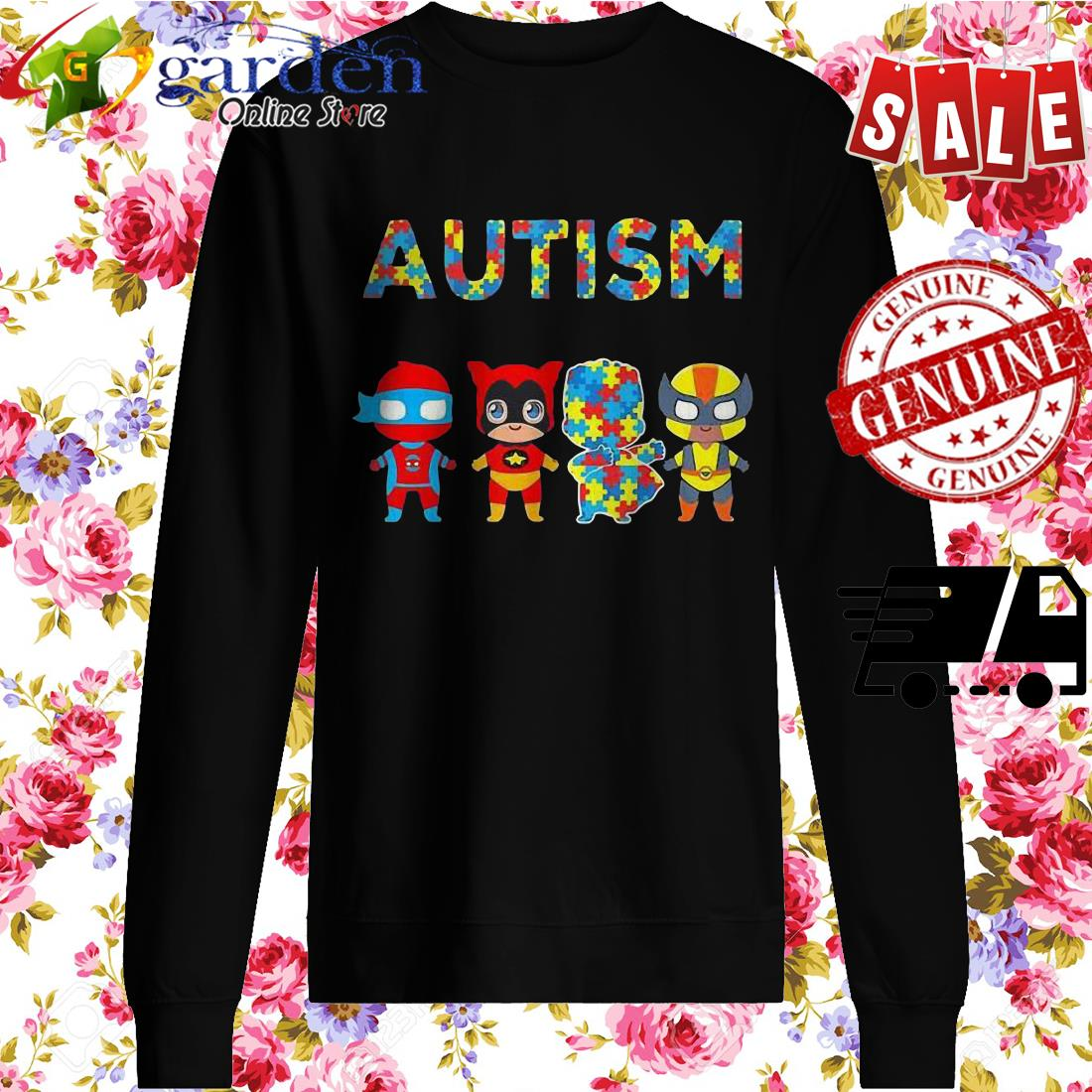 Autism It's Not A Disability It's A Different Ability Hero sweater