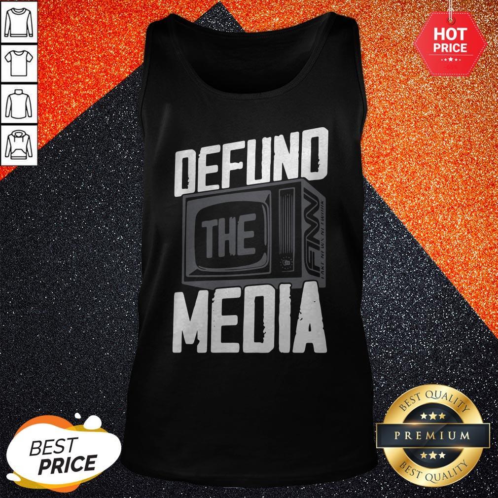 Beautiful Defund The Media Tank Top