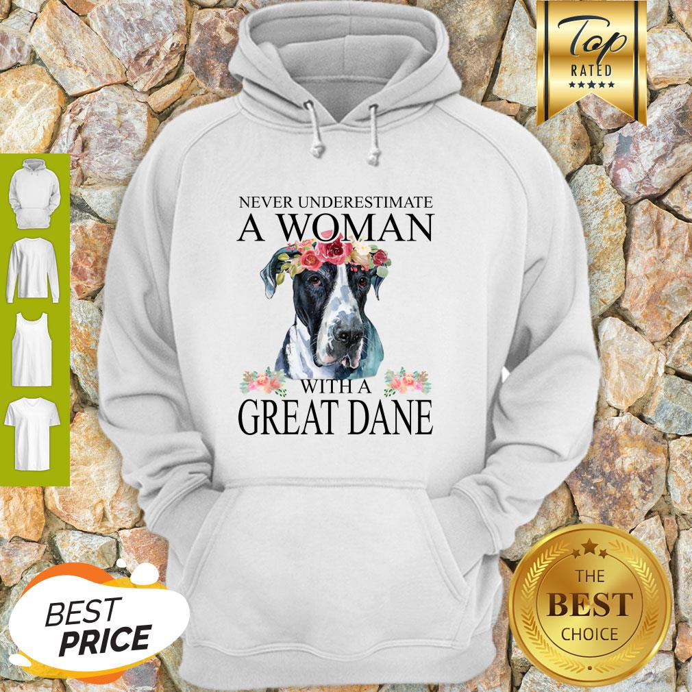 Beautiful Women Great-Dane Mom Mama Funny Mother Grandma Lover Gifts Hoodie