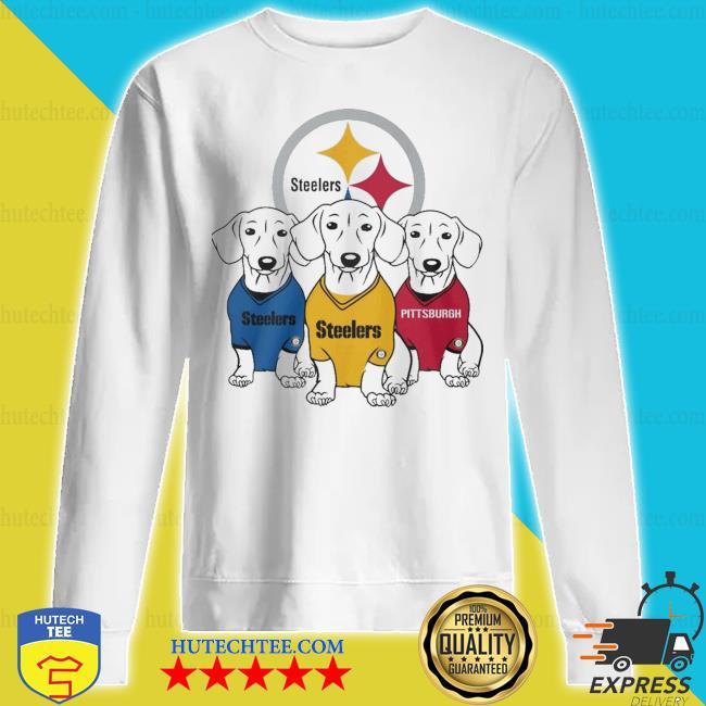 Dachshunds Pittsburgh Steelers s sweatshirt