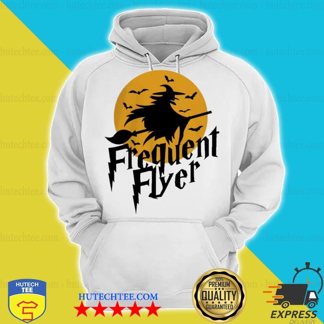 Frequent flyer witch halloween s hoodie