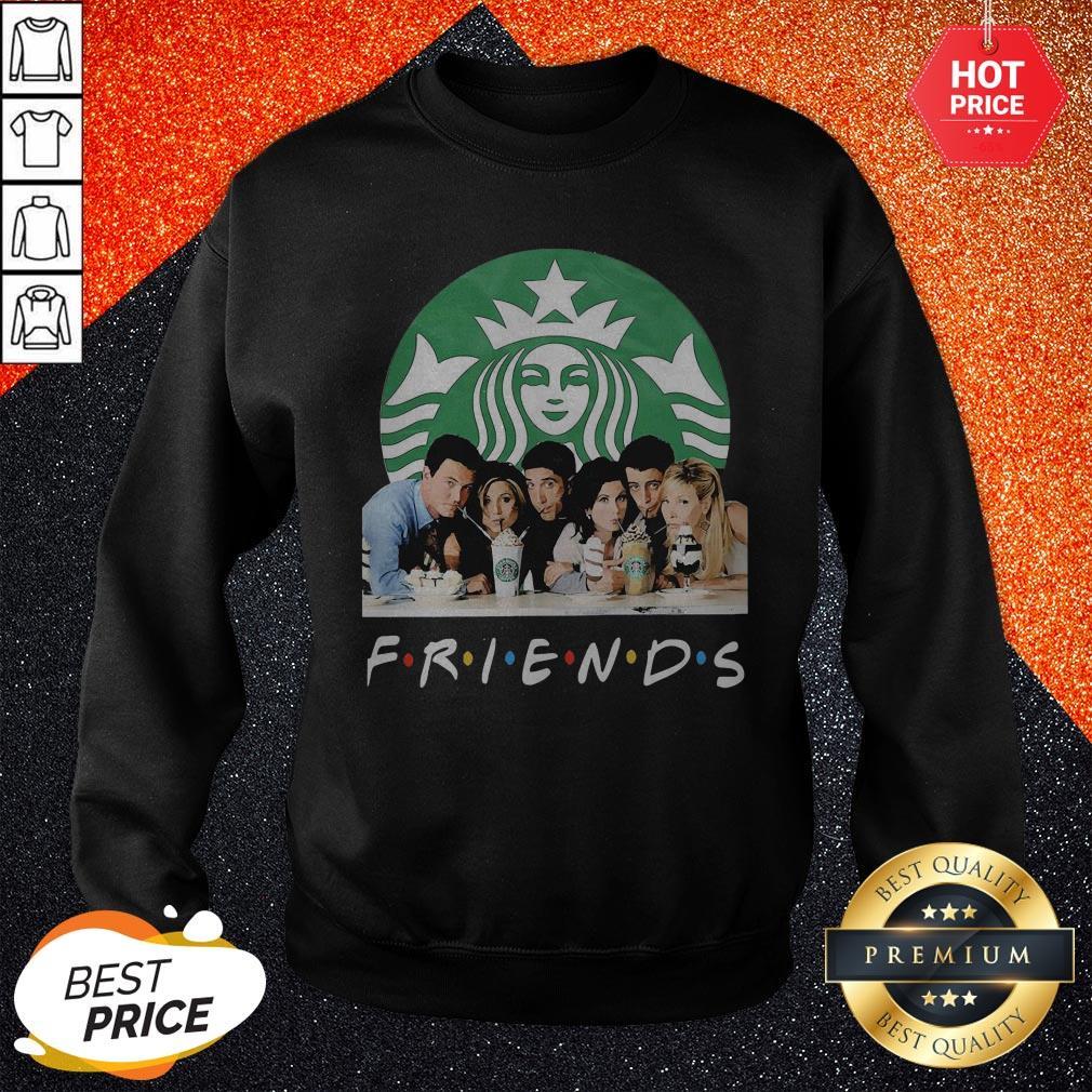 Friends Character Starbucks Coffee Sweatshirt
