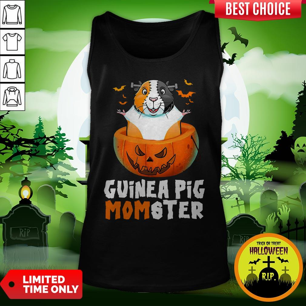 Funny Guinea Pig Monster Tank Top