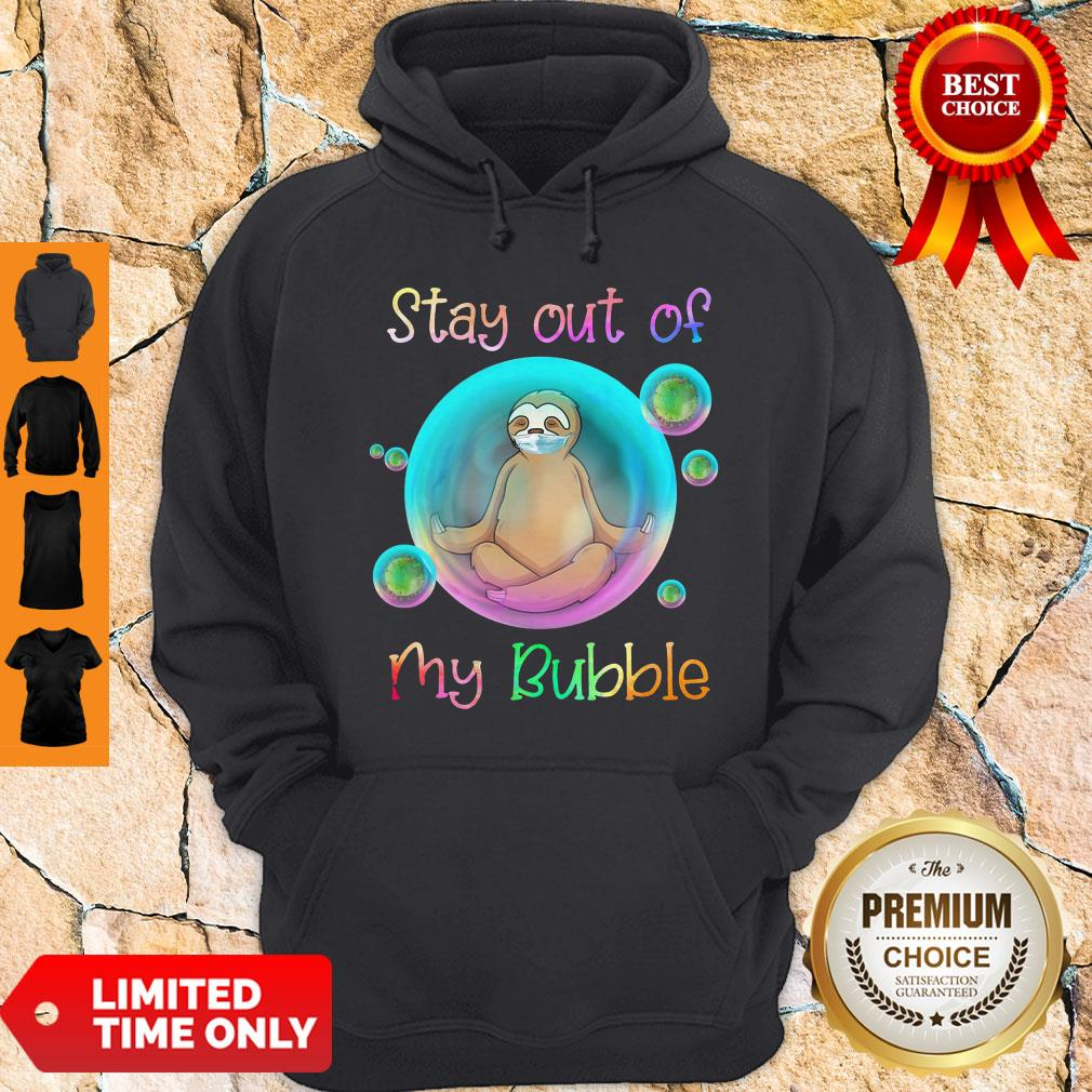 Funny Monkey Stay Out Of My Bubble Hoodie