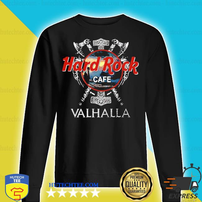 Hard Rock cafe Valhalla 2020 s sweater