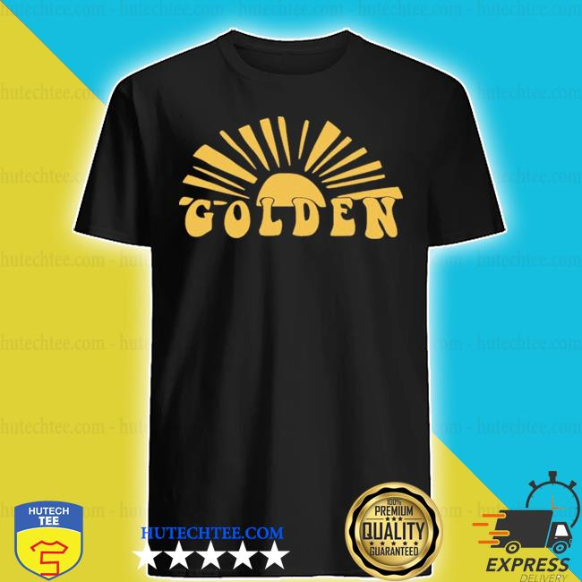 Harry styles golden shirt