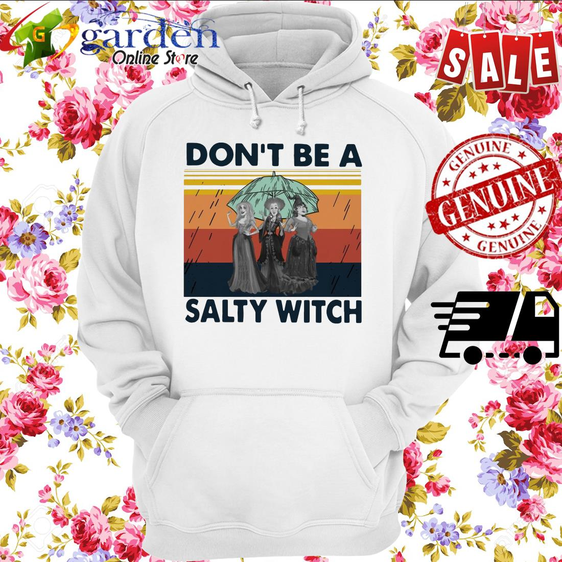 Hocus-Pocus Don't Be A Salty Witch Vintage hoodie