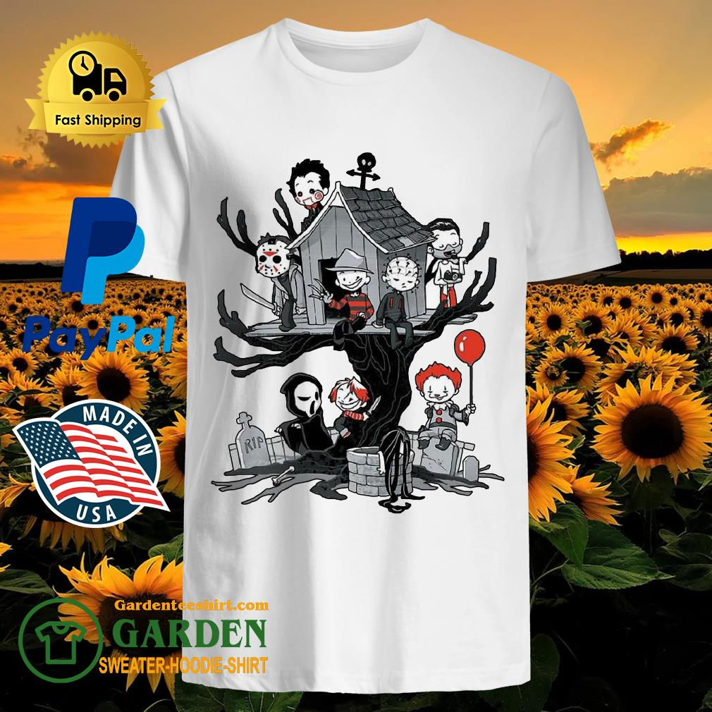 Horror Park Halloween Horror Chibi Characters shirt