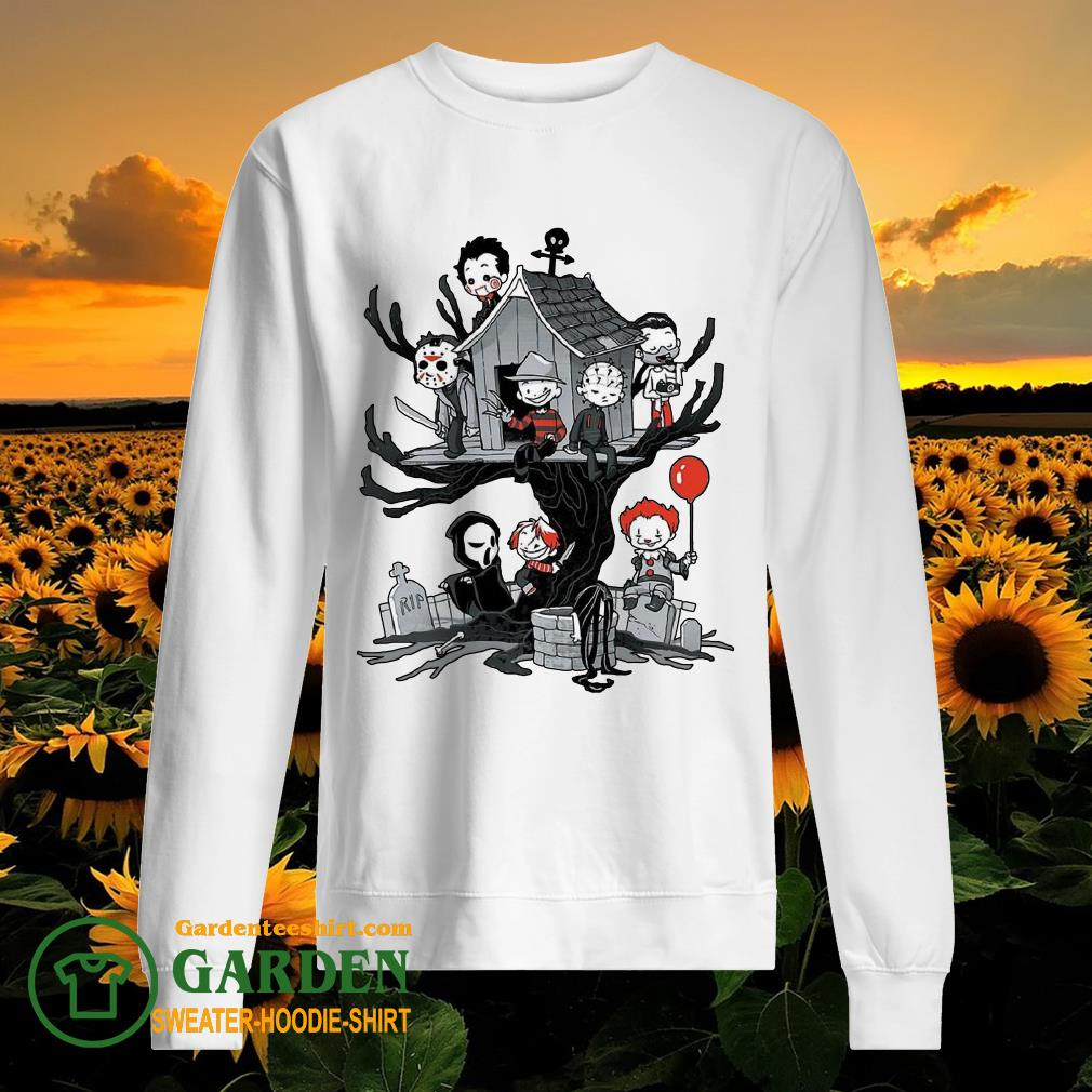 Horror Park Halloween Horror Chibi Characters sweater