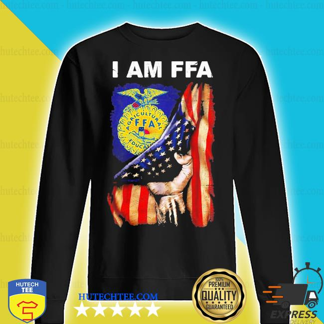 I am FFA american flag independence day s sweater