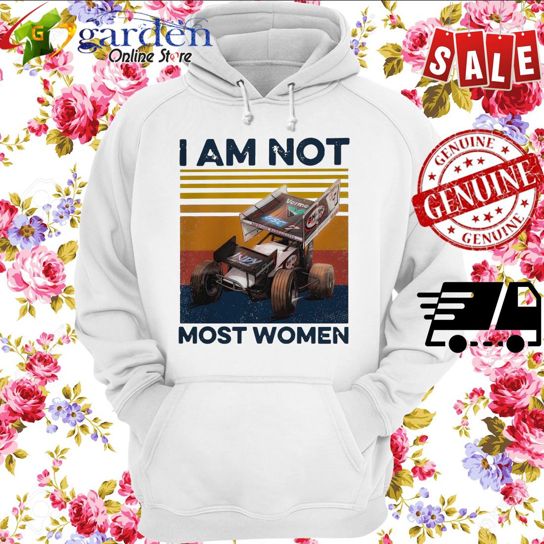 I Am Not Most Women Vintage hoodie