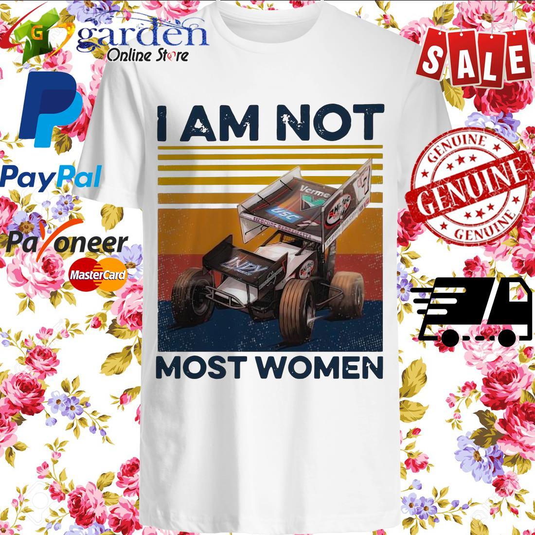 I Am Not Most Women Vintage Shirt