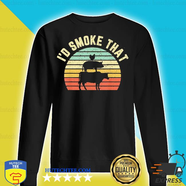 I'd smoke that retro barbeque grilling s sweater